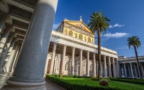 Картинка Рим, Италия, Базилика Святого Павла, Сан-Паоло-фуори-ле-мура