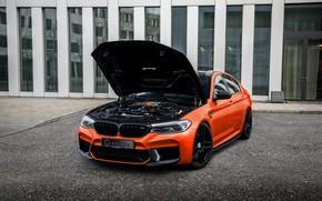 Картинка BMW, G-Power, BMW M5, под капотом, 2020, M5, F90, G5M Hurricane RS