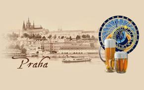 Картинка пиво, Прага, Чехия, Влтава, Praha, by Pyrus-acerba, коллекция городов