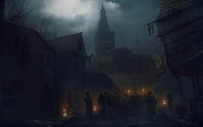 Картинка atra mors, The black plague, Vladimir Manyukhin, черная смерть, Черная чума