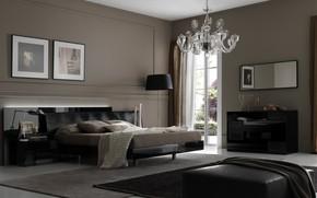 Картинка дизайн, стиль, интерьер, спальня