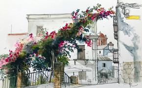 Картинка рисунок, Andalusia, Tarifa