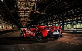 Картинка Красный, Авто, Рендеринг, Supercar, Concept Art, Спорткар, SuperSport, Transport & Vehicles, Benoit Fraylon, by Benoit …