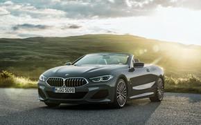 Картинка BMW, кабриолет, 2018, Cabrio, 8-Series, M850i, XDrive
