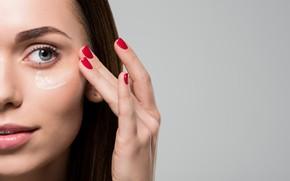 Картинка care, woman, eye, skin