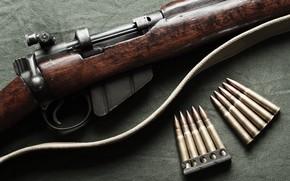 Картинка оружие, патроны, винтовка, Lee-Enfield, No.1 Mk III, .303