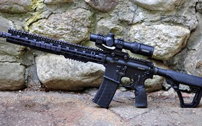 Картинка оружие, винтовка, m16, ар 15, ар-15, assault rifle, ar-15, custom, weapon, ar 15, assault Rifle, …