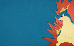 Картинка fire, огненный, покемон, pokemon, Quilava, Квилава