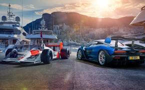 Картинка McLaren, Monaco, 2018, Senna, Honda F1