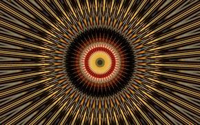 Картинка лучи, узор, симметрия