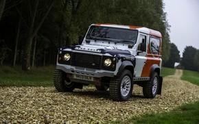 Картинка внедорожник, Land Rover, Defender, 2013, 2014, Challenge, Bowler