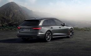 Картинка облака, горы, Audi, универсал, 2019, A4 Avant, S4 Avant