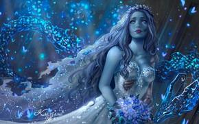 Картинка девушка, дракон, Эмили, фэнтези арт, Карла Ортега, Сердце дракона