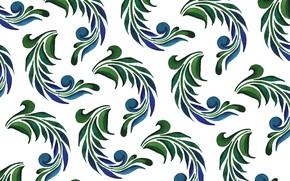 Картинка белый, листья, фон, текстура, leaves, Background