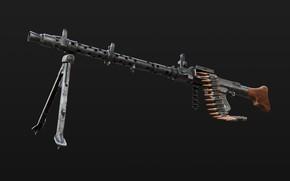 Картинка Ручной пулемёт, MG 34, Универсальный пулемёт