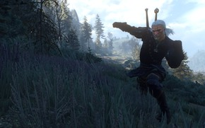 Картинка Witcher, Witcher 3 Wild Hunt, Geralt From Rivia