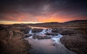 Картинка утро, Исландия, Iceland