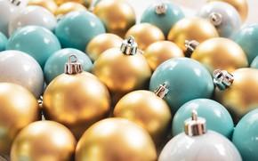 Картинка шарики, ретро, праздник, Рождество, Новый год, разноцветные, винтаж