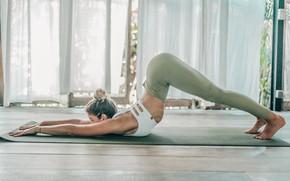 Картинка model, pose, workout, yoga