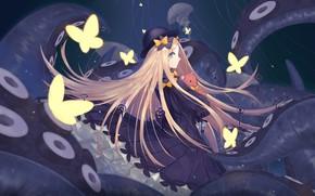 Картинка бабочки, девочка, Fate / Grand Order, Судьба великая кампания
