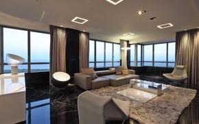 Картинка комната, гостиная, иетерьер