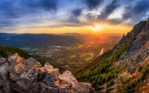 Картинка sunset, Seattle, Mount Si Splendor, Snoqualmie River