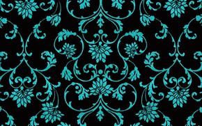 Картинка фон, узор, черный, текстура, орнамент, design, art, background, pattern, floral