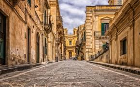 Картинка город, улица, Италия, old town, Sicile, Palerme