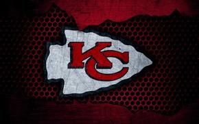 Картинка wallpaper, sport, logo, NFL, american football, Kansas City Chiefs