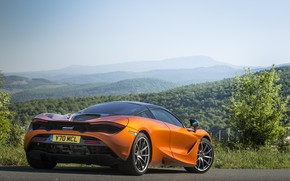 Картинка McLaren, суперкар, Coupe, 2017, 720S