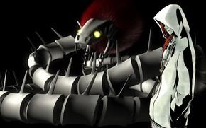 Картинка змей, парень, Bleach, Ренджи