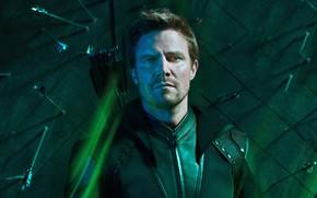 Картинка взгляд, свет, мужчина, Oliver Queen, In Arrow