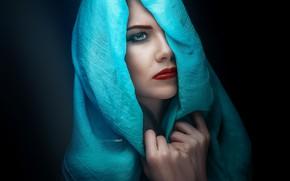 Картинка взгляд, лицо, Девушка, Олеся Колесенина, Alexander Drobkov-Light
