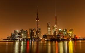 Картинка город, Китай, Shanghai, Шанхай