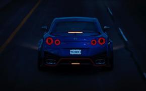 Картинка игры, GTR, Nissan, GT-R, автомобиль, Nissan GT R Nismo, The Crew 2