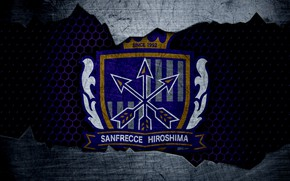 Картинка wallpaper, sport, logo, football, Sanfrecce Hiroshima