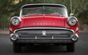 Картинка Red, 1957, Retro, Convertible, Buick, Luxury