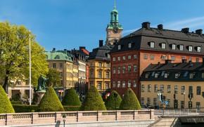 Картинка Стокгольм, Швеция, столица