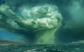 Картинка шторм, океан, стихия