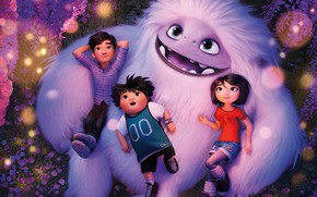 Картинка дети, монстрик, Эверест, Abominable
