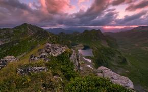 Картинка закат, горы, Россия, Карачаево-Черкессия, фотограф Максим Евдокимов