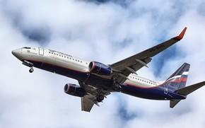 Картинка Boeing, Аэрофлот, Airplane, Споттинг, своё фото, Spotting, my photo, Own photo, Boeing Next Gen 737-8LJ, …