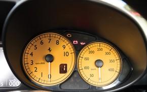 Картинка Ferrari, Enzo, Панель приборов