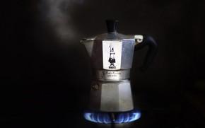 Картинка фон, кофеварка, примус