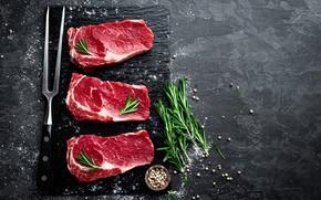 Картинка мясо, специи, стейк