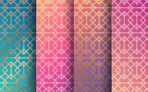 Картинка розовый, орнамент, texture, blue, color