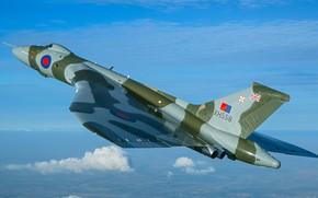 Картинка Самолет, Бомбардировщик, RAF, Королевские ВВС, Avro Vulcan, Avro, Vulcan, V-бомбардировщик, Avro Vulcan B2