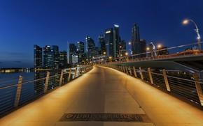 Картинка Bridge, Singapore, Jubilee, Arca