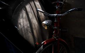 Картинка свет, велосипед, тень