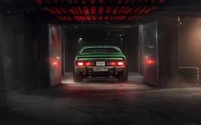 Картинка Авто, Зеленый, Машина, Dodge, Charger, Dodge Charger, 1974, Mikhail Sharov, Transport & Vehicles, by Mikhail ...